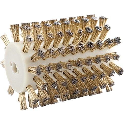Stahldrahtbürste vermessingt 120 mm zu Handbürstmaschine 9741