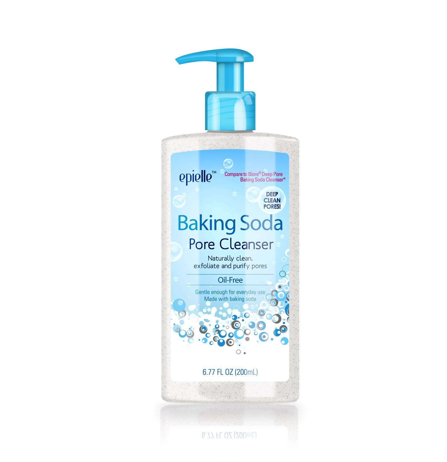 Epielle Baking Soda Pore Cleanser Maskne Soldering Free Oil for Quantity limited Great