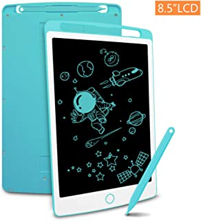Richgv LCD Writing Tablet, 8.5 Inch Electronic Graphics Tablet Ewriter Board Mini Drawing Pad Suitable for Kids and Adults Blue