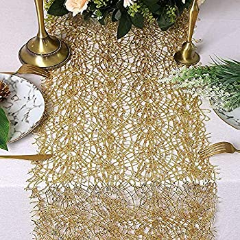 Best gold lace table runner Reviews