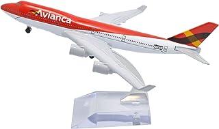 TANG DYNASTY 1/400 16cm アビアンカ航空 Avianca ボーイング B747-400 高品質合金飛行機プレーン模型 おもちゃ