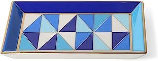 Jonathan Adler Sorrento Rectangle Trinket Tray, Blue