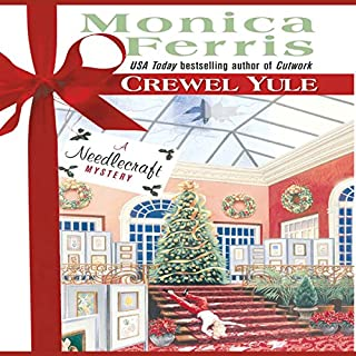 Crewel Yule                   By:                                                                                                                                 Monica Ferris                               Narrated by:                                                                                                                                 Melissa Hughes                      Length: 6 hrs and 34 mins     139 ratings     Overall 4.2