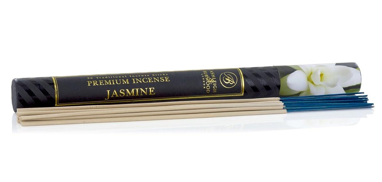 ベンチ初心者順応性のあるAshleigh&Burwood お香 30本入 ジャスミン insense Jasmine アシュレイ&バーウッド