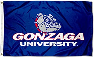 College Flags and Banners Co. Gonzaga Bulldogs Wordmark Flag