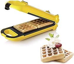 Princess 132406 Waffle Maker Flip – 2 wafels per baksessie – Roteerfunctie, geel