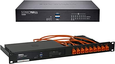 SonicWall | TZ500 TotalSecure 1 YR Bundle | Firewall + Rackmount Kit | 01-SSC-0445 + RM-SW-T5