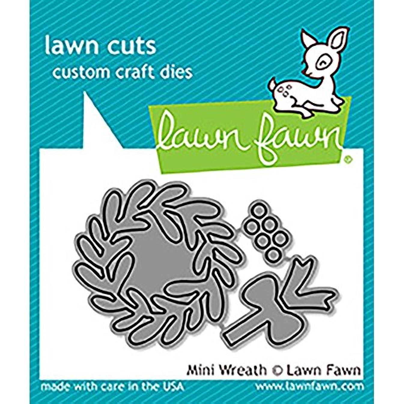 LAWN FAWN Cuts Custom Craft Dies: Mini Wreath (LF1496)