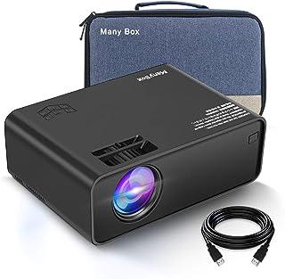 ManyBox Mini proyector, 3500 Lux proyector de vídeo port�