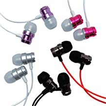 Xentyx Earbuds for Kids - 5 Pack Earphones Durable Ear Buds