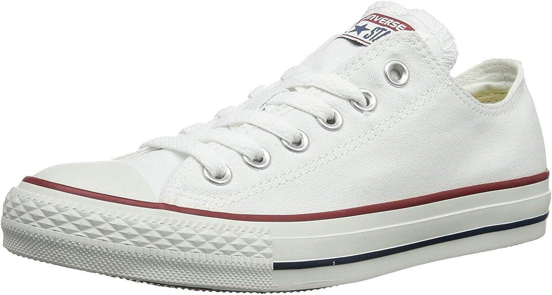 Converse Unisex Chuck Taylor All Star Low Top (7 B(M) US Women   5 D(M) US Men, Optical White)