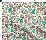 Spoonflower Stoff – Weihnachten Weihnachten Weihnachten