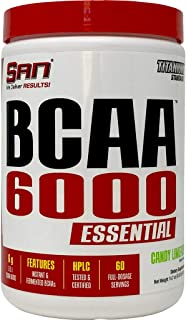 BCAA-6000 Essentials Candy Limeade. Amino Energy - BCAA, Amino Acids, Muscle Strength & Recovery Post Workout Energy Drink...