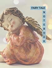 """Fairy Tale Notebook: Little Goddess Statue Cover 8.5x11"""" 100 Pages Blank Lined Composition Fairies Tale Book - Large Size ..."""