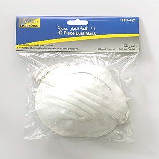 SuberDeal SBD-421 12 piece Dust Mask, Multi-Colour