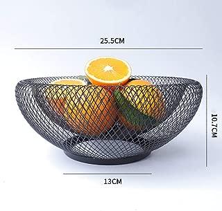 per verdure stile nordico Cestino portaoggetti da tavolo per la casa decorazione in ferro utensili da cucina snack 3# organizer per caramelle frutta