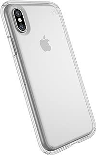 Speck Capa Presidio Clear para iPhone X, Transparente