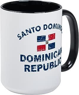 CafePress Santo Domingo Dominican Republic Designs Large Mug Coffee Mug, Large 15 oz. White Coffee Cup