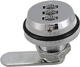 CKMSYUDG Legering Code Combinatie Cam Lock Keyless Post Mail Box Kast RV 3 Dial Zilver