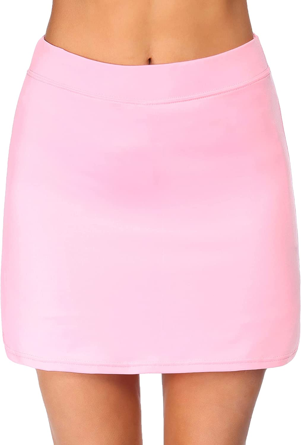 Max 42% OFF Ekouaer Women's Skorts Pleated Cute Solid In a popularity Pocket with Skirts Col