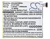 CS - Batería de polímero de litio para tablet ASUS ZenPad 10, Z300C, P023, ZenPad 10.1, sustituye a ASUS C11P1502, C11P1517