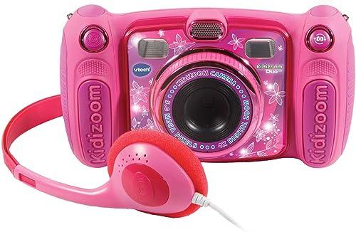 Vtech–Kidizoom Duo 5.0, appareil photo numérique, enfant avec 5mégapixels, écran couleur, 10fonctions différentes...