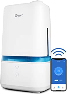 LEVOIT Humidifiers for Bedroom, Smart Wi-Fi Cool Mist Essential Oils Diffuser in one, 4L Ultrasonic Air Vaporizer for plan...