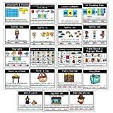 PDX Reading Specialist Phonic Rules Display Posters - Set of 19 Phonics Reading Charts - P...