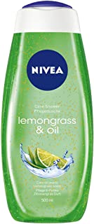 NIVEA Shower Gel, Lemongrass & Oil, 500ml