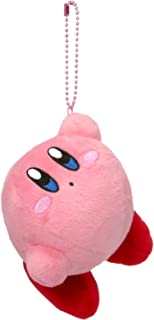 Hanging star Kirby Kirby MC stuffed with ball chain mascot height 8 cm