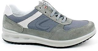 Grisport - Sneaker in camoscio e Tessuto Grigio