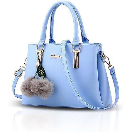 Nicole&Doris Neue PU-Leder beiläufige Art und Weise Handtasche Schultertasche Messenger Bag