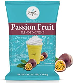 Angel Specialty Products, Blended Smoothie, Frappe Powder Mix, Passion Fruit [3 LB] [34 Servings]