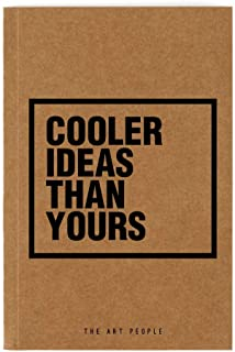 Cooler Notebook| Handmade| Diary| Notebook| for Office & College Notes| Draw| Personal Quotes & Poetry| The Art People
