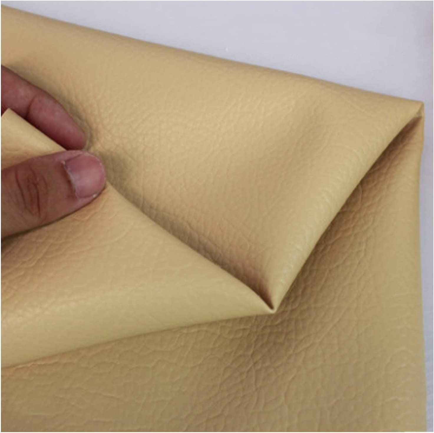 YANGUANG Leatherette Faux Fixed price Cheap super special price for sale Leather Fabric Texture Litchi Le Grain