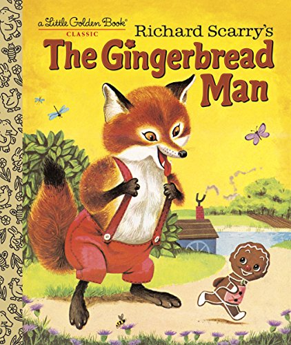 The Gingerbread Man (Little Golden Book)