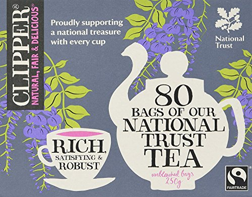 Clipper Organic Fairtrade National Trust Black Tea 80 bags