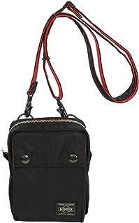ポーター エルファイン 【PORTER L-fine】 PORTER×ILS共同企画 ミニショルダーバッグ Mini Shoulder Bag 【LYD383-06694】 ブラック 裏地=レッド Black Backing=Red