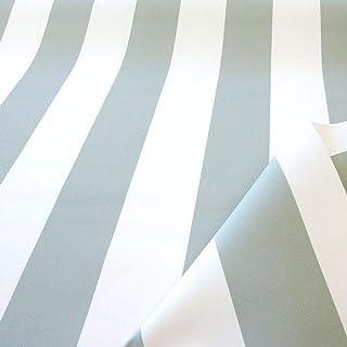 TOLKO Sonnenschutz Markisen-Stoffe als Meterware Zum Nähen mit UV-Schutz 50 | Wasserdicht, Extra Langlebig - Ohne Ausbleichen Grau Weiß