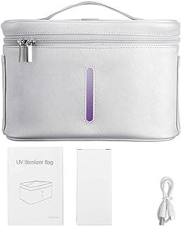 ETE ETMATE 12 LED St_eril~izer Bag,Portable USB Rechargeable LED Dis~infe_ction Bag for Baby Bottle/Underwear/Toothbrush/B...