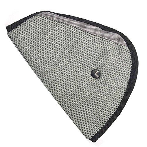 Vococal® Kinder Dreiecksform Auto Kindersitz Sicherheitsgurt Gurt Einsteller Abdeckung Pad Kabelbaum, Grau
