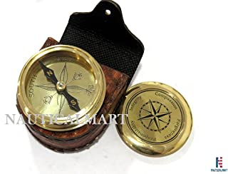 NAUTICALMART Moral Brass Compass Integrity,Responsibility,Forgiveness,Compassion with Case Gift