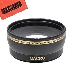 55mm Wide Angle Lens for Nikon D3400 with 18-55MM AF-P DX, D5600 with 18-55MM AF-P DX, DL24-500, DL 24-500MM Digital Camera
