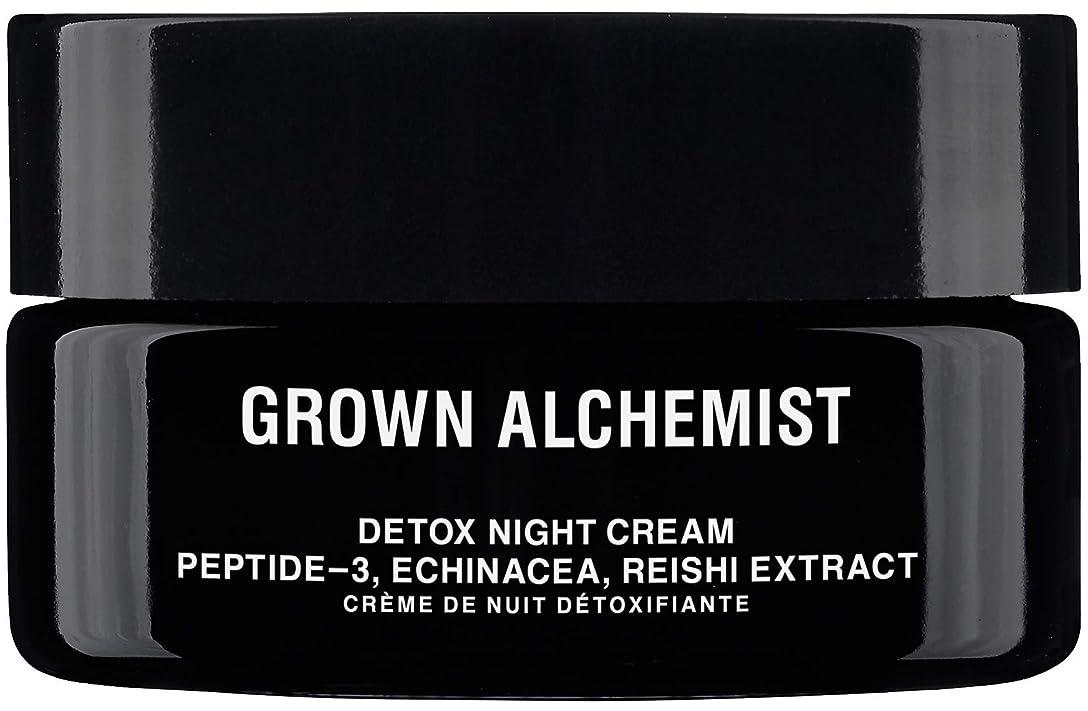 水差し針醸造所Grown Alchemist Detox Night Cream - Peptide-3, Echinacea & Reishi Extract 40ml/1.35oz並行輸入品