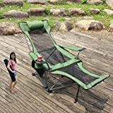 Stable Reclining Lounge Chair with Cup Holder,Portable Chair for Outdoor Activities,Folding Camping Chair