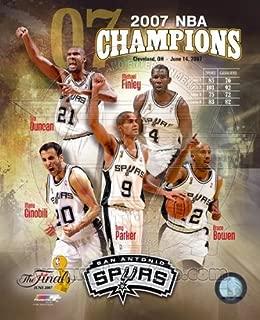 NBA San Antonio Spurs 2007 Championship Photo 8x10