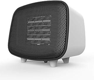 Calefactor Ventilador Personal Calentador Calentador de espacios eléctrica de cerámica compacto portátil Ventilador Calentador Calentador de Protección del sobrecalentamiento de volcado de Protección