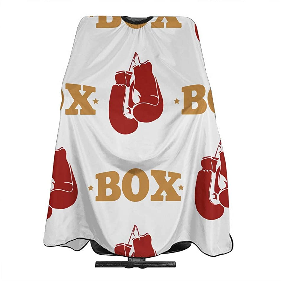 Box Boxing Glives Salon Hair Cutting Cape Cloth Barber Hairdressing Wrap Haircut Apron Cloth Styling Accessory For Unisex