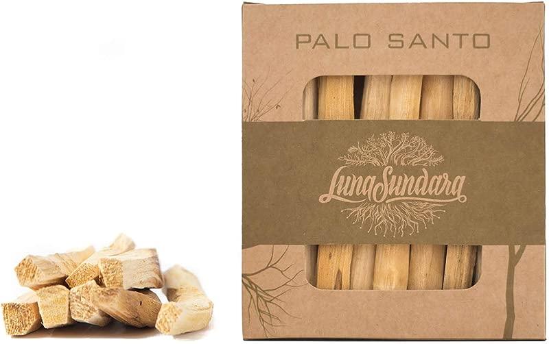 Luna Sundara Palo Santo Smudging Sticks High Resin Palo Santo From Ecuador Wild Harvested Smudging Sticks