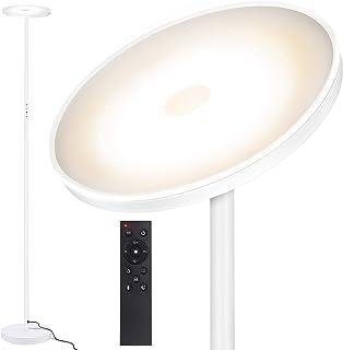 Outon Lampadaire sur Pied 30W 2400LM, Lampadaire LED Dimmable en continu, 4 Températures de Couleur, Télécommande et Comma...